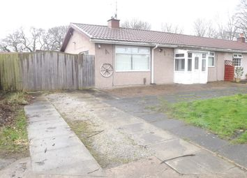 Thumbnail 3 bed semi-detached bungalow for sale in Hillside Drive, Rivacre, Ellesmere Port