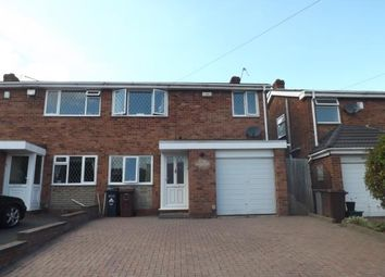 Thumbnail 3 bed semi-detached house for sale in Langley Hall Road, Solihull, West Midlands