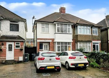 Thumbnail 3 bed semi-detached house for sale in Lottbridge Drive, Eastbourne