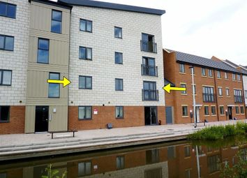 Thumbnail 2 bed flat to rent in Quay Side, Stoke-On-Trent