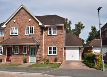 Thumbnail 3 bed semi-detached house for sale in Stowe Close, Padworth, Reading