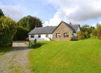 Thumbnail 4 bed detached bungalow for sale in Cross Inn, Llandysul