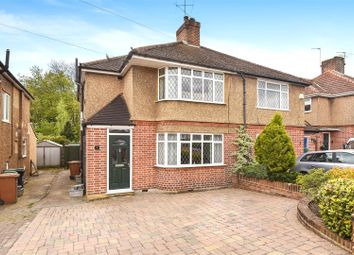 Thumbnail 3 bed semi-detached house for sale in Girton Way, Croxley Green, Rickmansworth