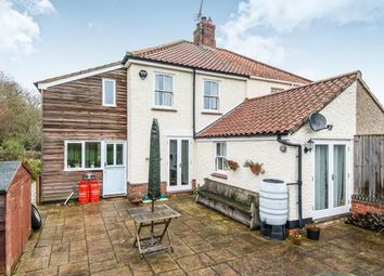 Thumbnail 3 bed semi-detached house for sale in Wramplingham, Wymondham, Norfolk