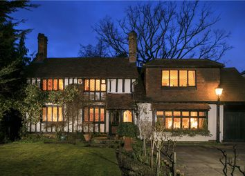 Thumbnail 3 bed detached house for sale in Coombe Hill Road, Kingston Upon Thames