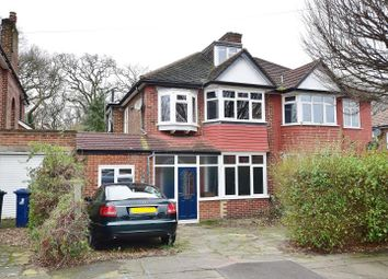 Thumbnail 4 bed semi-detached house for sale in Woodland Rise, Greenford, Middlesex