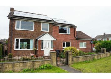 Thumbnail 5 bed detached house for sale in North Brook Road, Hadfield, Glossop