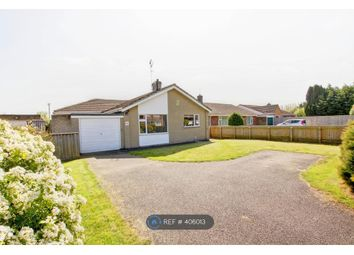 Thumbnail 3 bed bungalow to rent in Stow Road, Wisbech