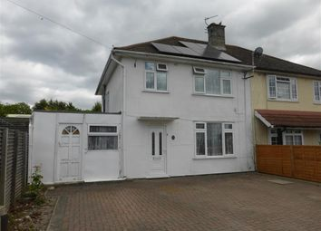 Thumbnail 3 bedroom semi-detached house for sale in Spencer Road, Reading