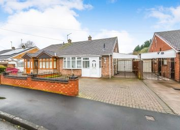 Thumbnail 2 bed semi-detached bungalow for sale in Charlotte Road, Wednesbury