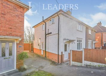 Thumbnail 3 bed semi-detached house to rent in Coppice Avenue, Ilkeston