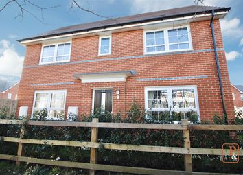Thumbnail 3 bed detached house for sale in Walton Hall Drive, Felixstowe