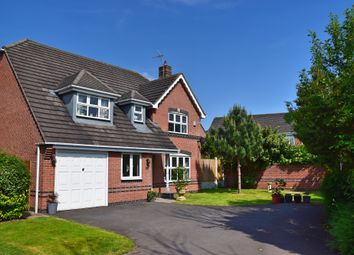 Thumbnail 4 bed detached house for sale in Potter Close, Willaston, Nantwich