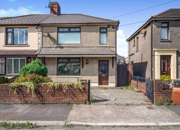 Thumbnail 3 bed semi-detached house for sale in Saltoun Street, Margam, Port Talbot