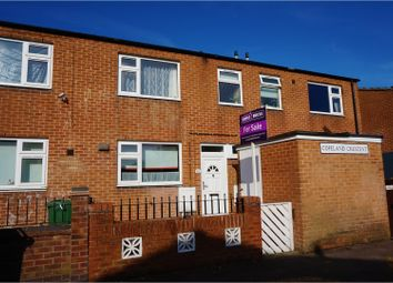 Thumbnail 3 bed terraced house for sale in Copeland Crescent, Loughborough