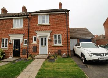 Thumbnail 2 bedroom end terrace house for sale in Lord Nelson Drive, Norwich