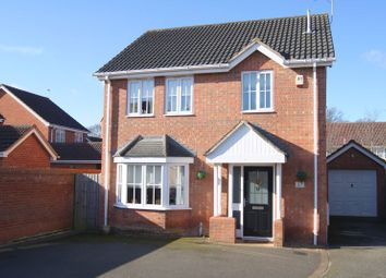 Thumbnail 3 bed detached house for sale in Claricoates Drive, Coddington, Newark