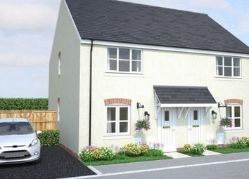 Thumbnail 1 bed semi-detached house for sale in Off Gilbert Road, Bodmin, Cornwall