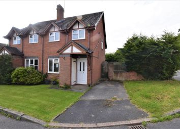 Thumbnail 2 bed property for sale in The Paddocks, Cross Lanes, Wrexham