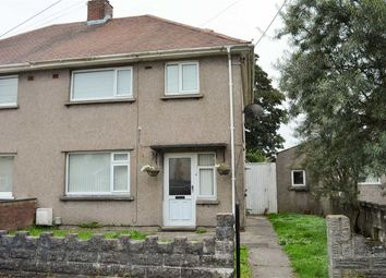 Thumbnail 3 bedroom semi-detached house for sale in Bryneinon Road, Swansea