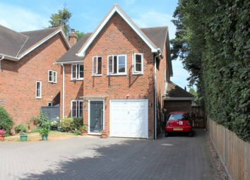 Thumbnail 4 bed detached house to rent in Reading Road South, Fleet, Hampshire