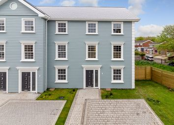 Thumbnail 4 bed end terrace house for sale in Parkside, Folkestone, Folkestone