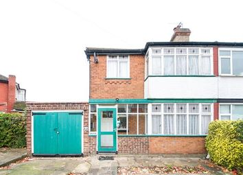 Thumbnail 3 bed semi-detached house for sale in Culver Grove, Stanmore, Greater London