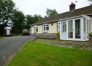 Thumbnail 3 bed detached bungalow for sale in Castell Pigyn Road, Abergwili, Carmarthen