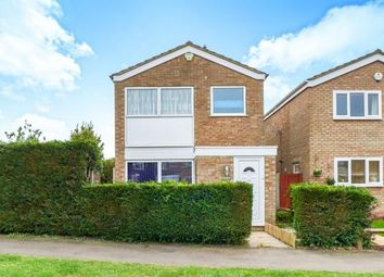 Thumbnail 3 bed detached house for sale in Pyms Close, Great Barford, Bedford, Bedfordshire