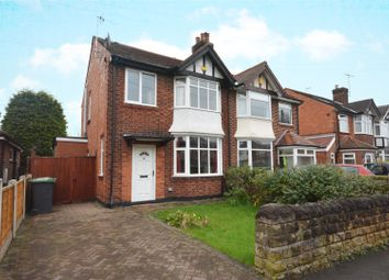 Thumbnail 3 bed semi-detached house for sale in Peveril Road, Beeston, Nottingham