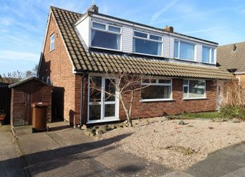 Thumbnail 3 bed semi-detached house for sale in Little Barn Court, Mansfield