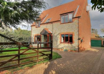 Thumbnail 5 bed detached house for sale in Chapel Road, Dereham