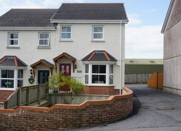 Thumbnail 2 bed semi-detached house for sale in Heol Y Banc, Bancffosfelen, Llanelli
