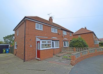 Thumbnail 3 bed semi-detached house for sale in Russet Grove, Scarborough