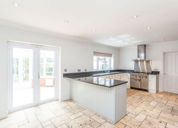 Thumbnail 4 bedroom detached house to rent in Chertsey Road, Windlesham