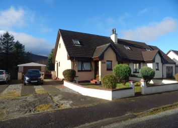Thumbnail 3 bed semi-detached house for sale in Storr Terrace, Portree, Isle Of Skye