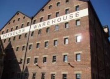 Thumbnail 1 bed flat to rent in Double Reynolds Warehouse, Gloucestershire