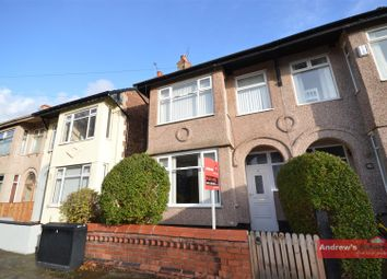 Thumbnail 3 bed property for sale in St. Nicholas Road, Wallasey