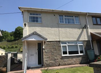 Thumbnail 3 bedroom semi-detached house for sale in St. Marys Close, Treherbert, Treorchy, Rhondda Cynon Taff.