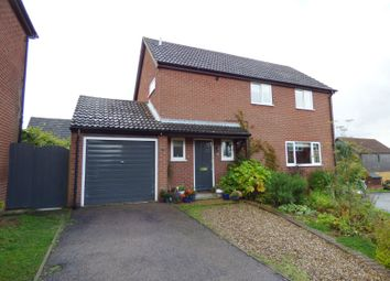 Thumbnail 4 bed detached house for sale in Barnard Close, Stoke Holy Cross