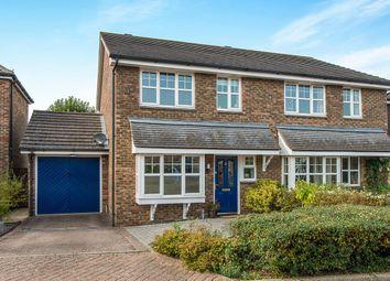 Thumbnail 3 bed semi-detached house for sale in Hilton Close, Faversham
