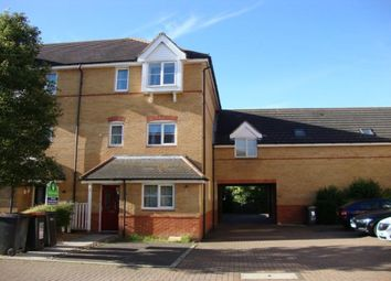 Thumbnail 4 bed terraced house to rent in The Sidings, Bedford