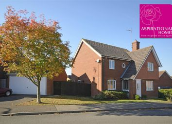 Thumbnail 4 bed detached house for sale in Hever Close, Thrapston, Northamptonshire