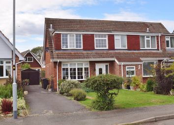 Thumbnail 3 bed semi-detached house for sale in Cox Drive, Bottesford
