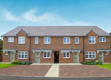 Thumbnail 2 bed terraced house for sale in Sanderson Manor, St Edmunds Way, Hauxton, Cambridge