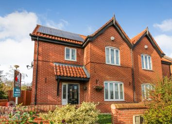 Thumbnail 3 bed semi-detached house to rent in The Street, Poringland, Norwich