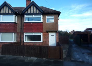 Thumbnail 3 bed semi-detached house for sale in Dukes Gardens, Blyth