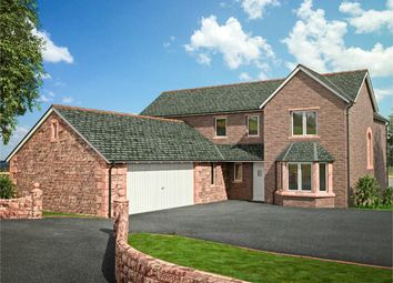 Thumbnail 4 bed detached house for sale in Meadow View, Irthington, Carlisle, Cumbria