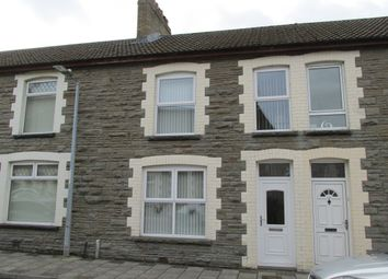 Thumbnail 3 bed terraced house to rent in William Street, Cwmfelinfach, Ynysddu
