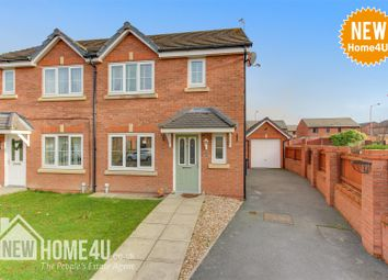 Thumbnail 3 bed semi-detached bungalow for sale in Bilberry Grove, Buckley